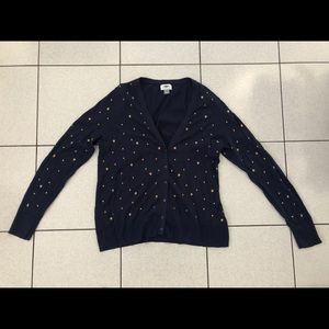 Old Navy cardigan with star design